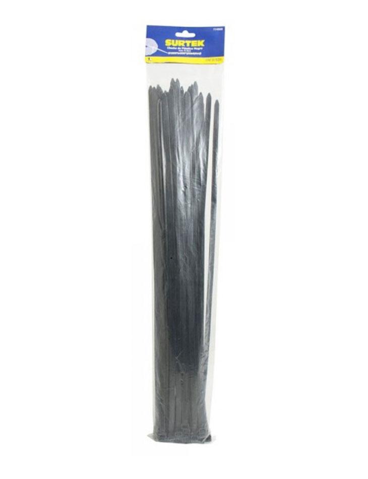 Cincho plástico 500 x 7.8mm negro (50 piezas)