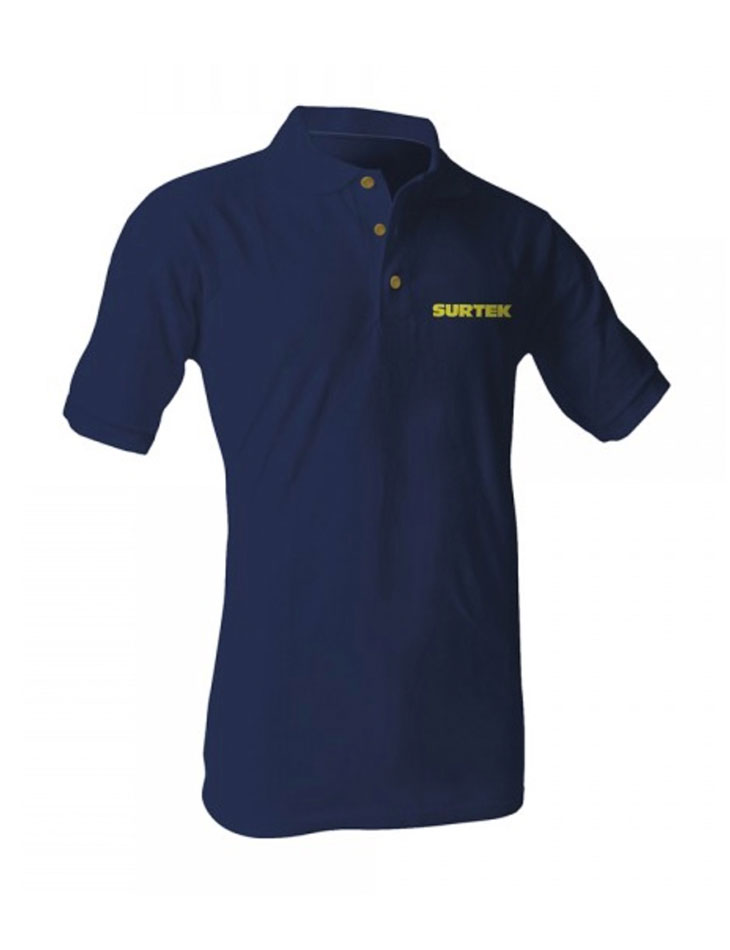 Playera Tipo Polo Azul Talla XL
