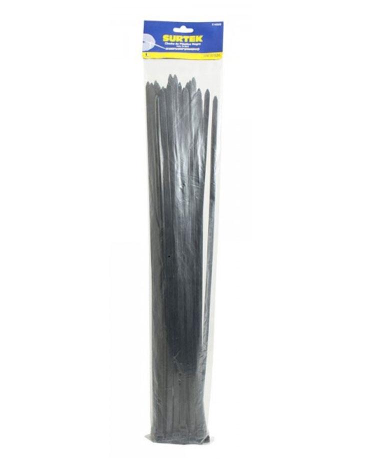 Cincho plástico 203 x 4.6mm 50 piezas negro