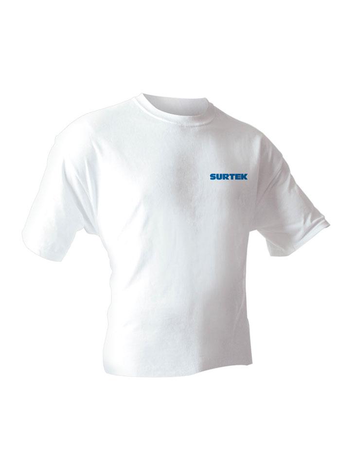 Playera Surtek blanca talla XL