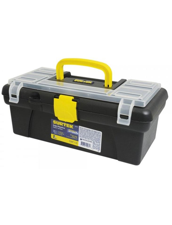 """Caja portaherramientas plástica broche plásticos 12"""""""