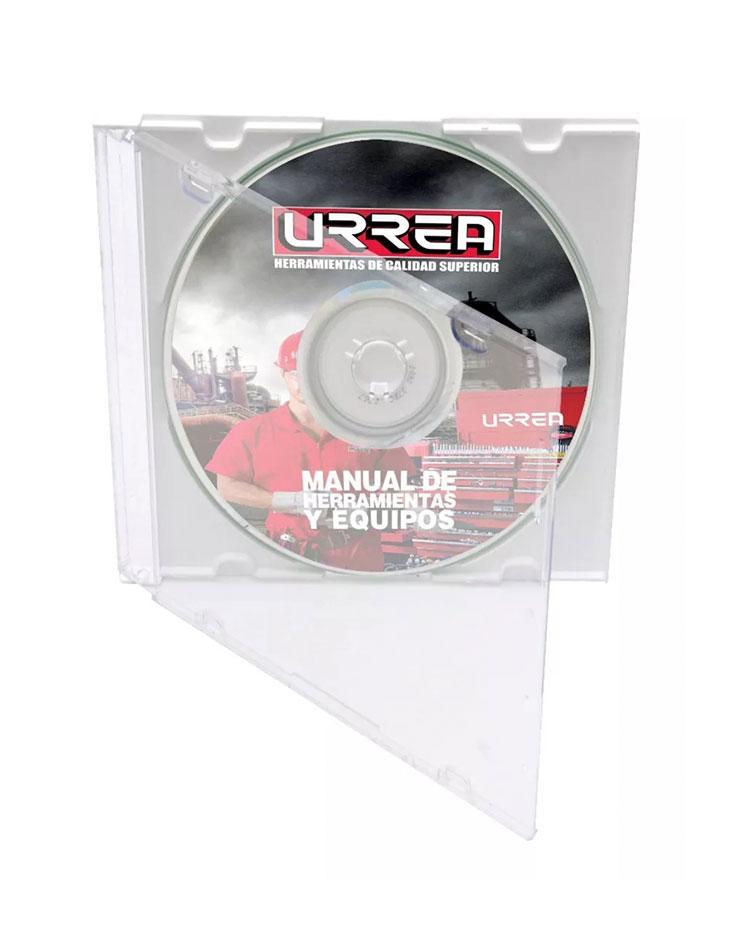 Manual de herramientas Urrea 2010 (CD)