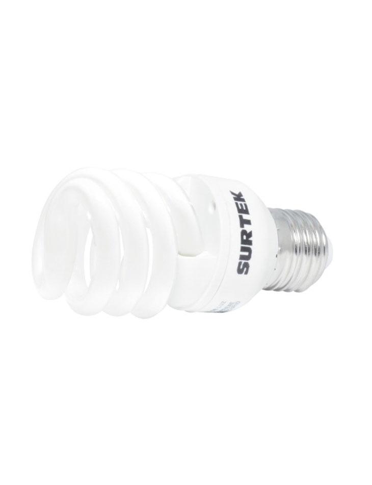 Foco mini espiral T2 luz cálida 70W
