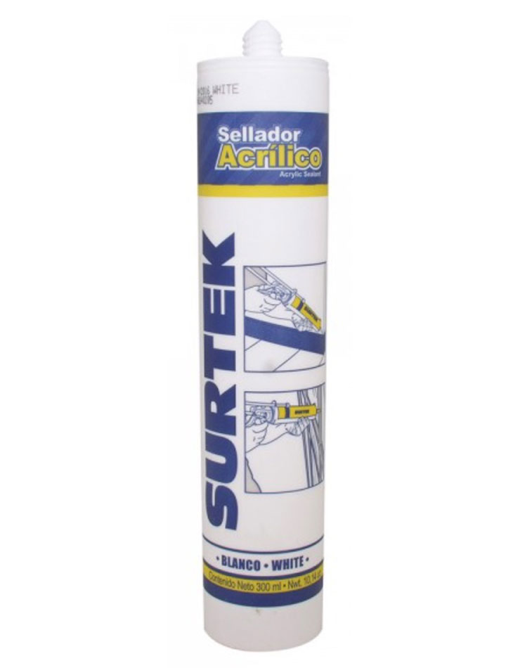 Sellador acrílico blanco 280ml